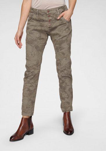 Please Jeans Röhrenhose »P78« im Military Style