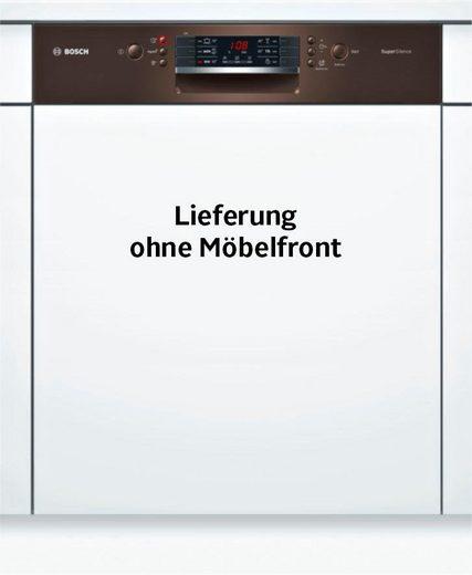 BOSCH teilintegrierbarer Geschirrspüler 4, SMI46NM03E, 9,5 l, 14 Maßgedecke
