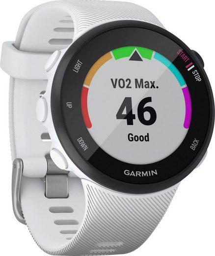 Garmin Forerunner 45S Smartwatch (2,64 cm/1,04 Zoll)
