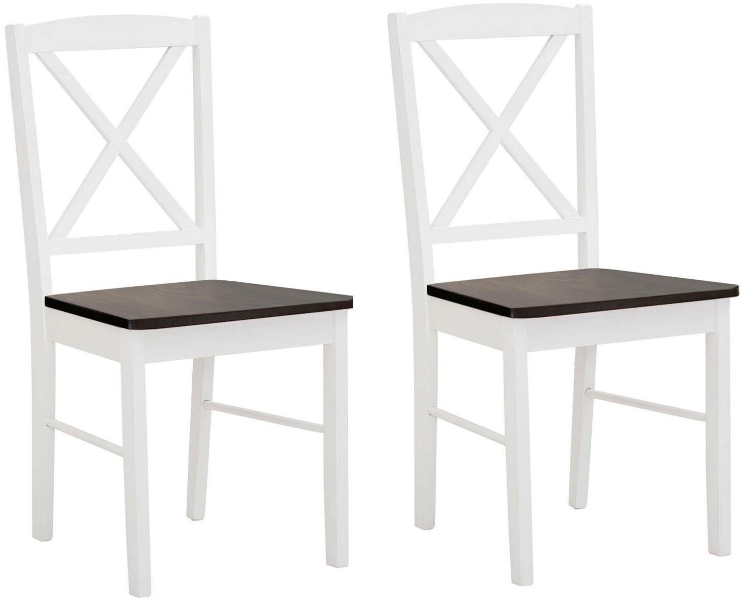 Home affaire Esszimmerstuhl »Sonoma« 2er Set, aus massivem Kiefernholzgestell, angenehmer Sitzkomfort, Sitzhöhe 47 cm online kaufen | OTTO
