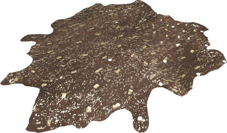 Fellteppich »Ronda 210«, calo-deluxe, fellförmig, Höhe 8 mm, echtes Rinderfell