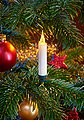 BONETTI LED-Christbaumkerzen, kabellos, 20 Kerzen mit Acrylflamme, neue Technologie, täuschend echt, Bild 1