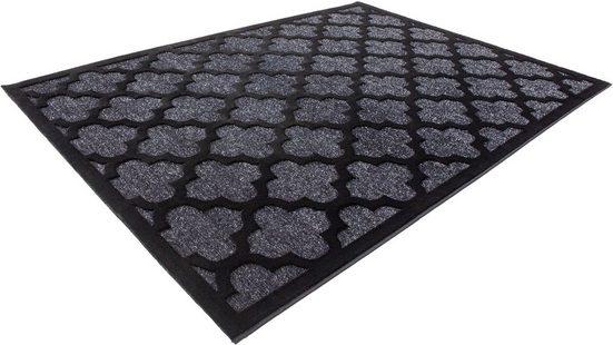 Teppich »Cenax 644«, calo-deluxe, rechteckig, Höhe 14 mm, Kurzflor, Konturenschnitt