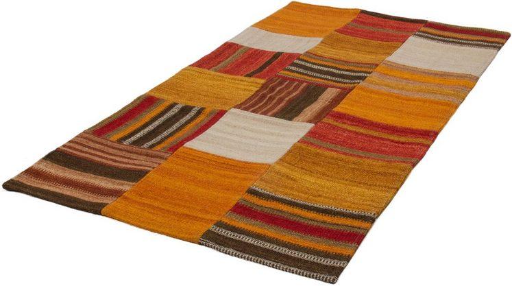 Teppich »Shemar 150«, calo-deluxe, rechteckig, Höhe 12 mm, Wolle mit Baumwolle