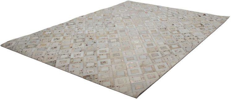 Fellteppich »Scarllet 110«, calo-deluxe, rechteckig, Höhe 8 mm, echtes Rinderfell