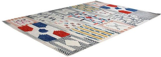 Teppich »Evans 210«, calo-deluxe, rechteckig, Höhe 8 mm, Wolle mit Baumwolle