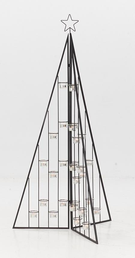 teelichthalter weihnachtsbaum deko objekt. Black Bedroom Furniture Sets. Home Design Ideas