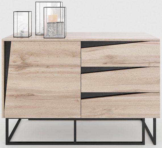 Home affaire Kommode »Carv«, Breite 110 cm