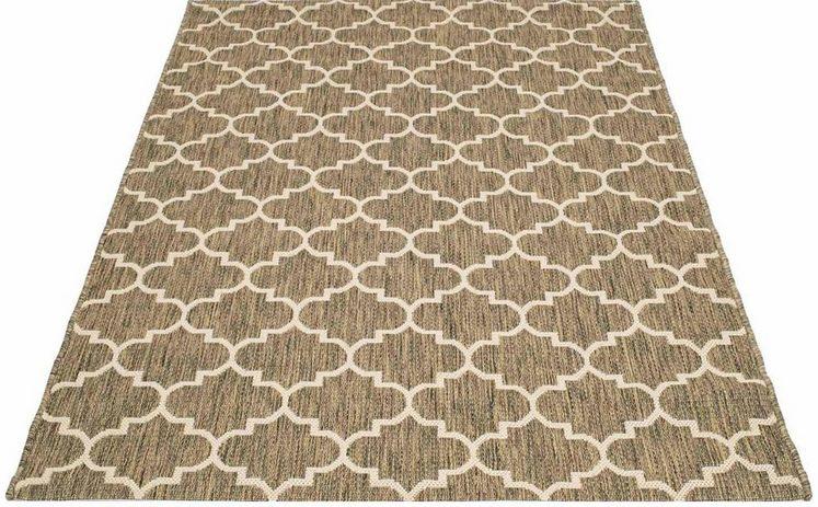 Teppich »Sun 604«, Carpet City, rechteckig, Höhe 5 mm, In- und Outdoor geeignet