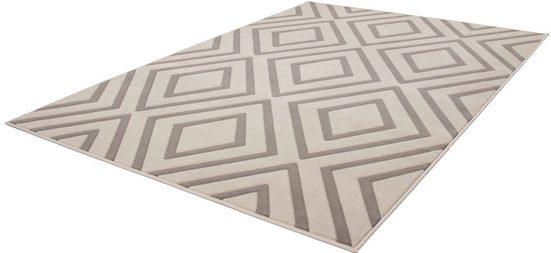 Teppich »Aloisy 111«, calo-deluxe, rechteckig, Höhe 10 mm, Kurzflor, Konturenschnitt