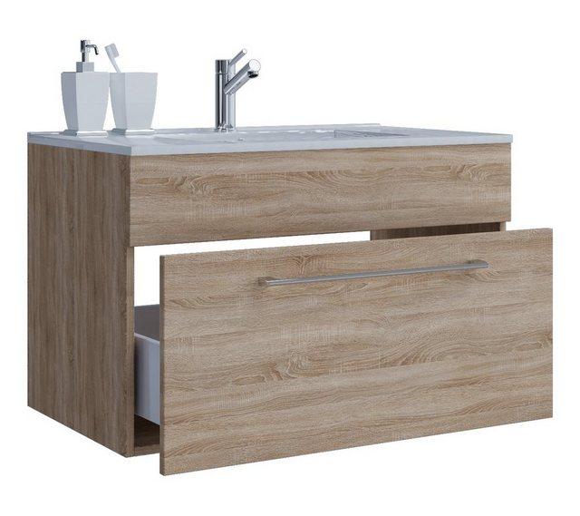 Waschtische - VCM 2. tlg. Waschplatz Waschtisch 1 Schublade  - Onlineshop OTTO