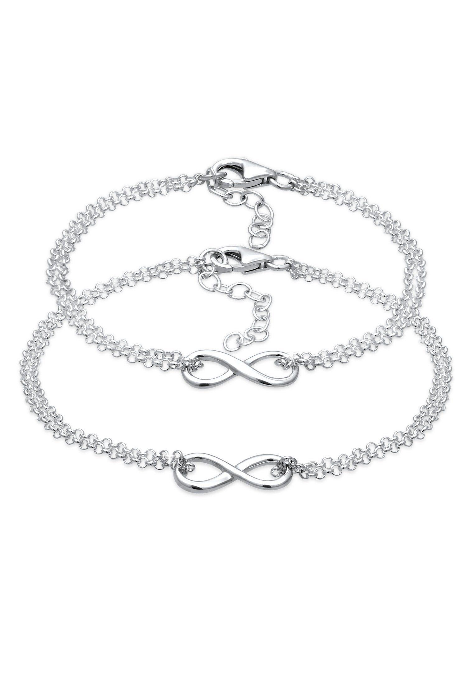 Elli Armband Set »Mutter Kind Set Infinity Endlos Symbol 925 Silber« online kaufen | OTTO