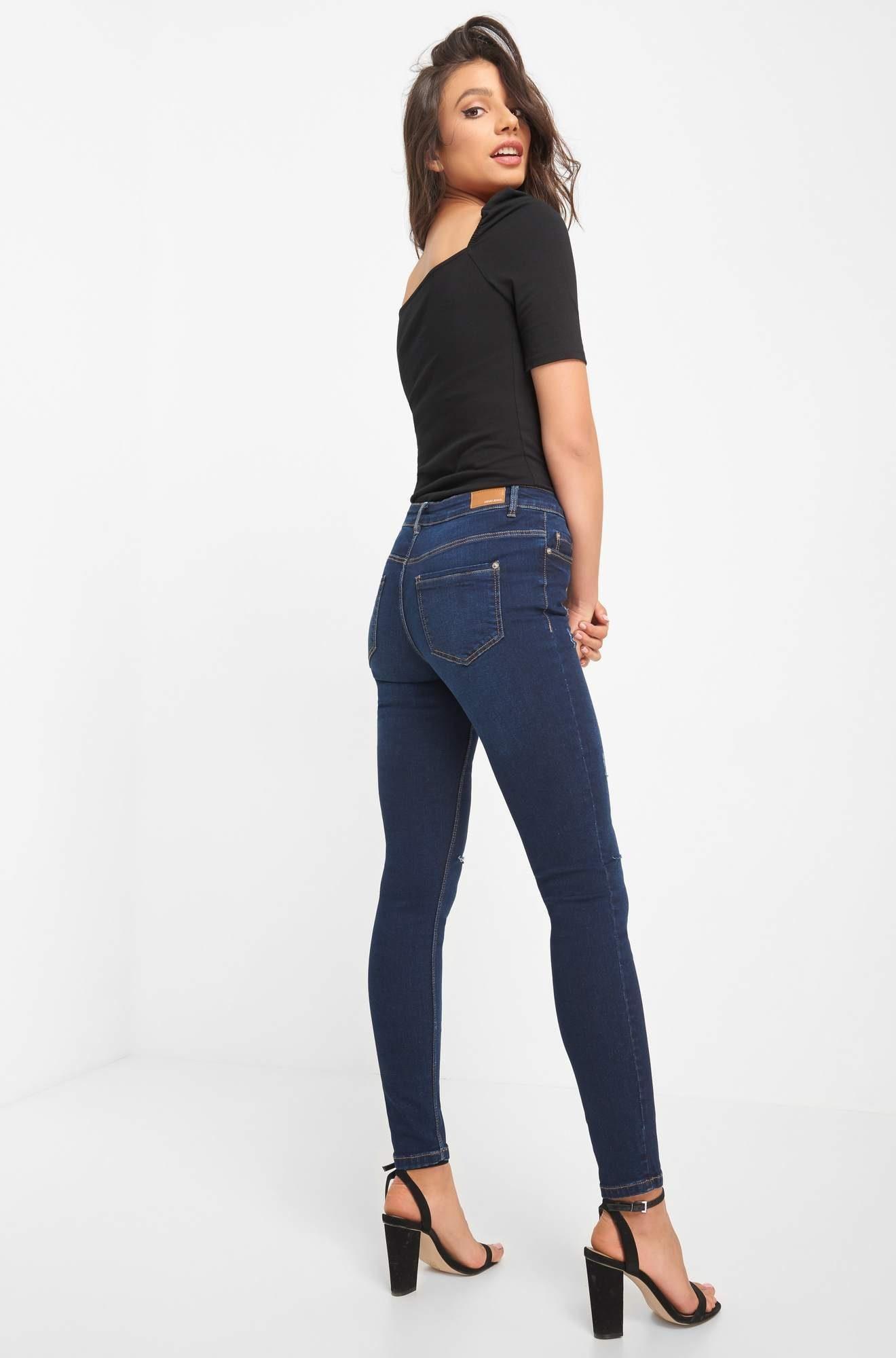 jeans Im look fit Destroyed Skinny Kaufen Orsay iuZTPkOX