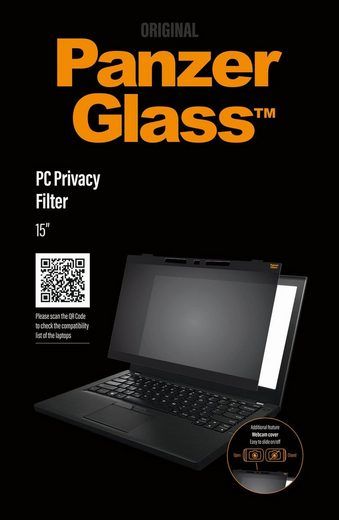 "PanzerGlass Schutzglas »PC Privacy Universal 15""«"