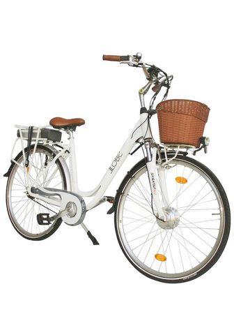 LLOBE Elektrinis dviratis City »White Motion...