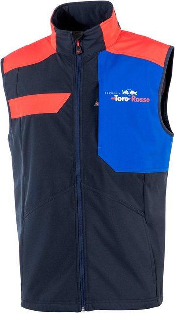 Softshellweste »Scuderia Toro Rosso«, dreilagiger Softshell mit Microfleeceinnenseite | Sportbekleidung > Sportwesten > Softshellwesten | Blau | Albatros
