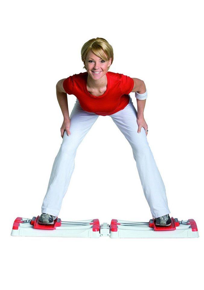 Stamm Bodyfit Multitrainer, inkl. Workout DVD, »Leg Sensation« in weiß-rot