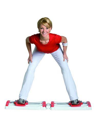 STAMM BODYFIT Multitrainer »Leg Sensation«, (Set, 2-St., mit Trainings-DVD)