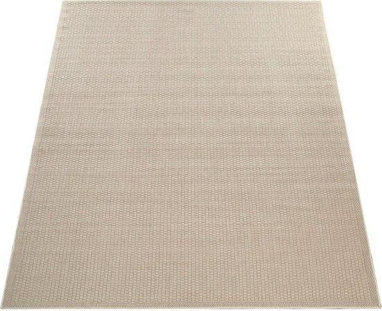 Teppich »Timber 125«, Paco Home, rechteckig, Höhe 7 mm, In- und Outdoor geeignet, Wohnzimmer, Kundenliebling mit 4,5 Sterne-Bewertung!