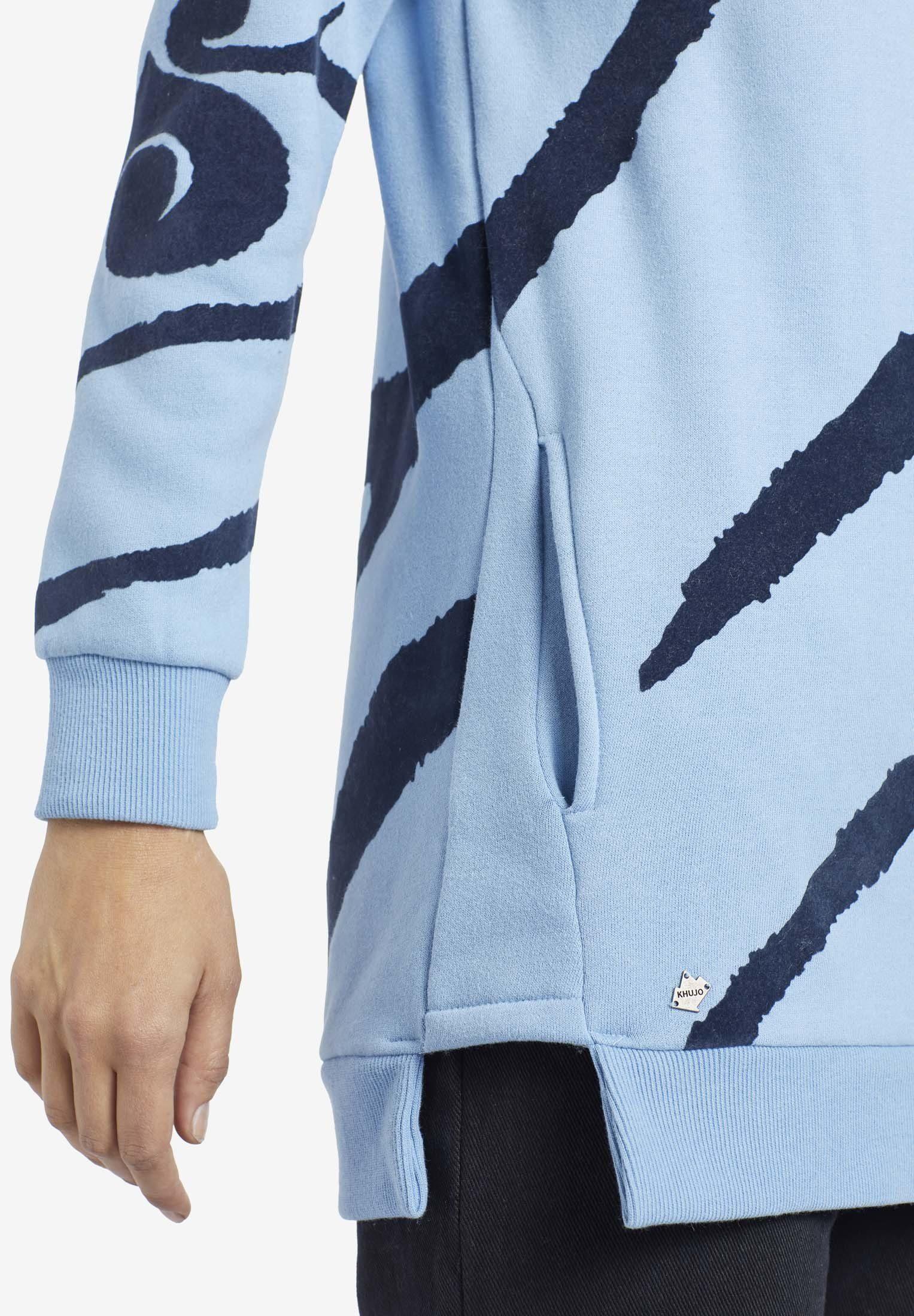 »malisa« Flockdruck Khujo Longsweatshirt Flockdruck Longsweatshirt »malisa« Mit Khujo Mit uTlkwZXOPi