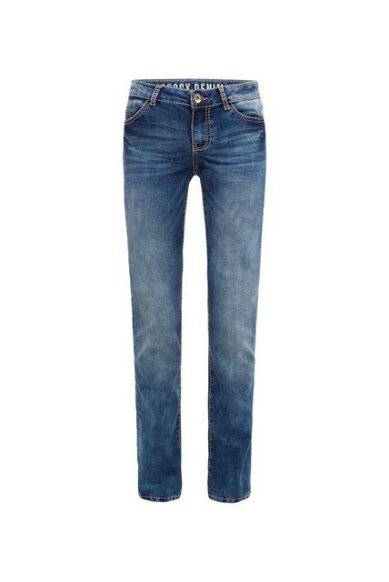 Hosen - SOCCX Regular fit Jeans mit Turn Up Saum ›  - Onlineshop OTTO