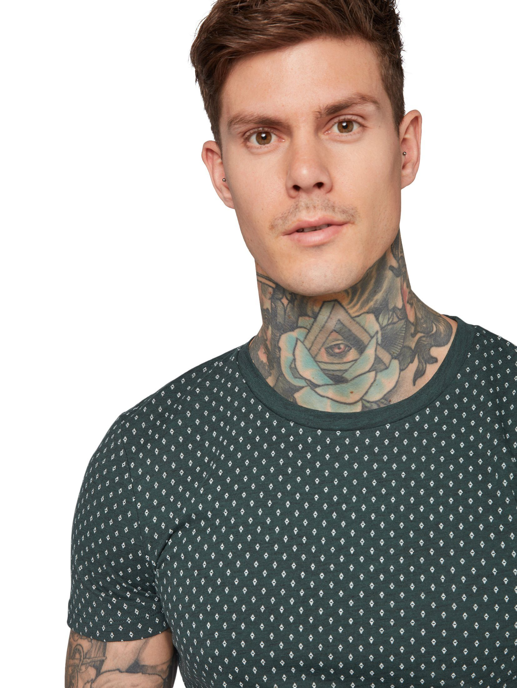 »t Tom print« Kaufen shirt Mit Allover shirt Tailor Denim T Online v8n0mNw
