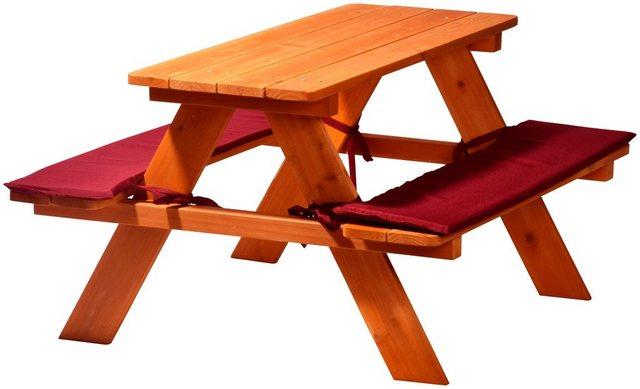 Kinder-Sitzbank für vier Kinder 50 cm x 89 cm x 79 cm