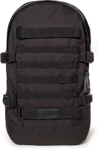 Eastpak Laptoprucksack »FLOID, TACT Black«, enthält recyceltes Material (Global Recycled Standard)