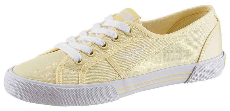 Pepe Jeans »Aberlady Eco« Sneaker im schlichten Design