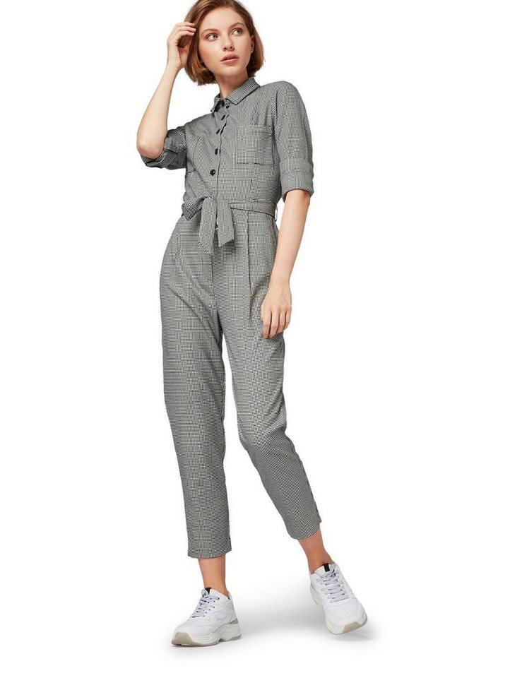 to buy factory outlets buying new TOM TAILOR Overall im Pepita-Look online kaufen   OTTO