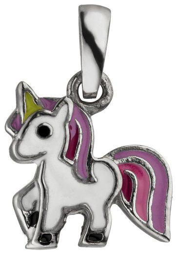 JOBO Kettenanhänger »Einhorn«, 925 Silber