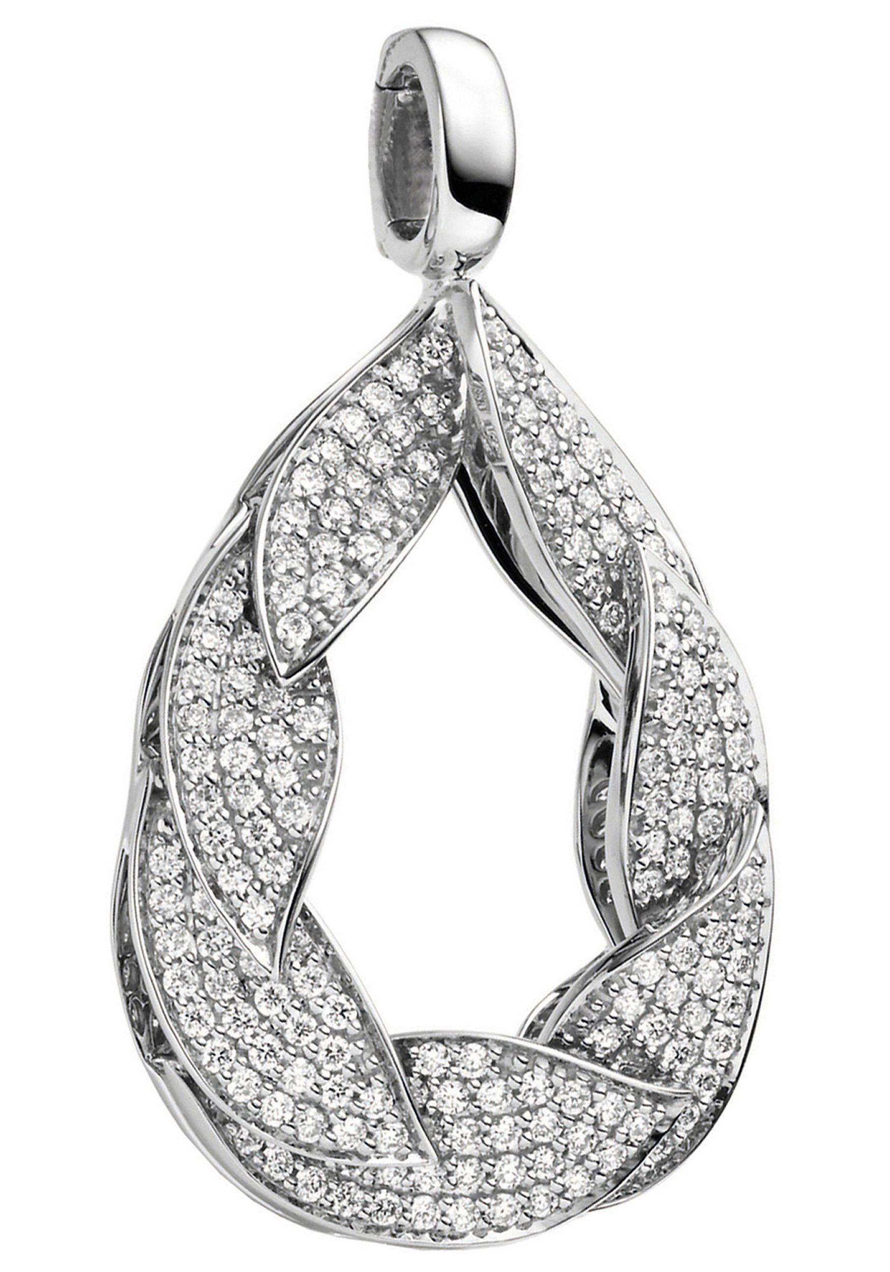 Kettenanhänger »tropfen« Weißgold Mit Kaufen Diamanten Jobo 175 585 Online txrhCQsdB