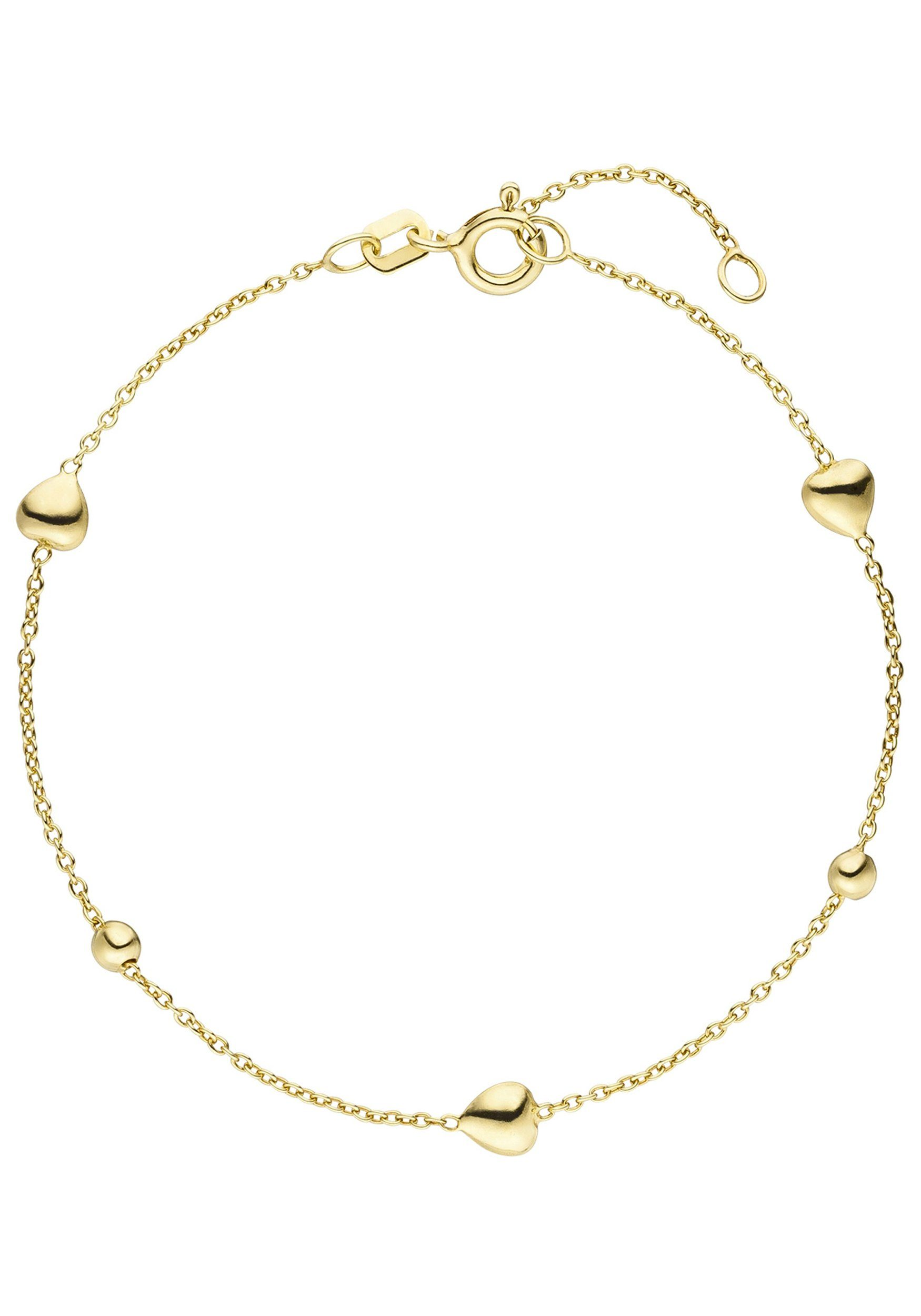 Jobo Online »herz Armband 925 19 Kugel« Vergoldet Silber Cm Kaufen fgYb67yIv
