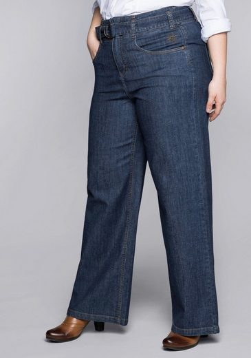 Sheego Stretch-Jeans High-Waist