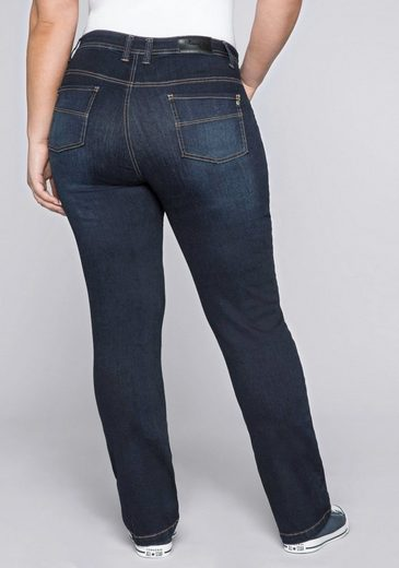 Sheego Stretch-Jeans in elastischer Denim-Qualität