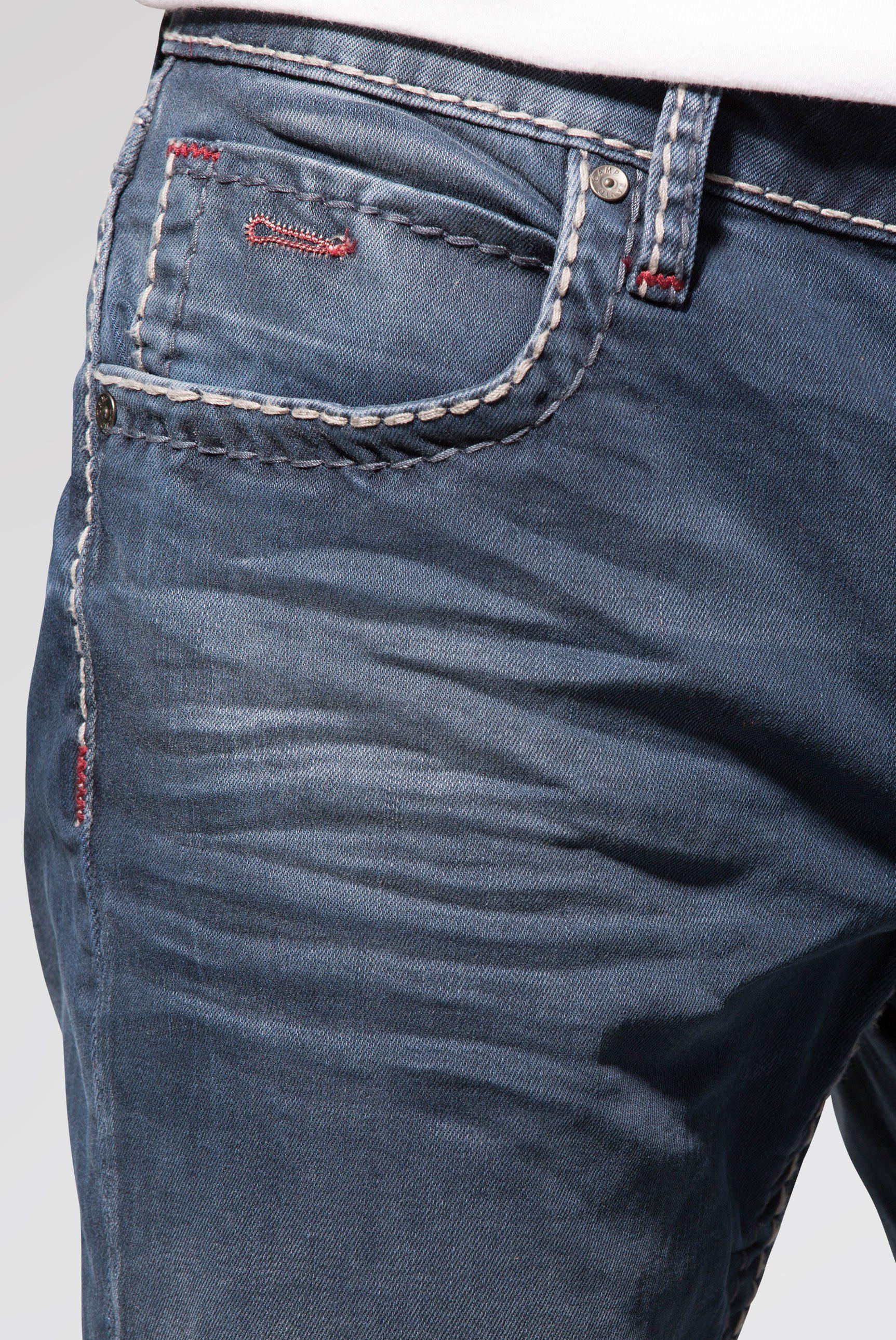 Münztasche Camp pocket jeans Ziernaht Mit David 5 Ygbf67yv