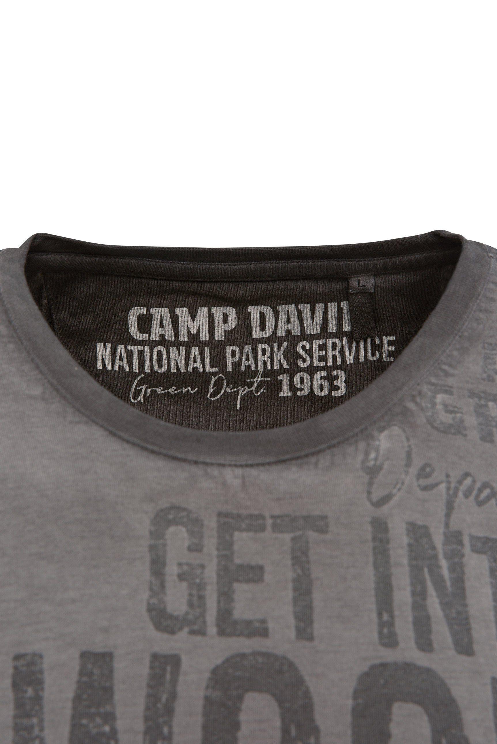 Camp Langarmshirt Kaufen Kontrastnähten Mit David 4R3S5cqLAj