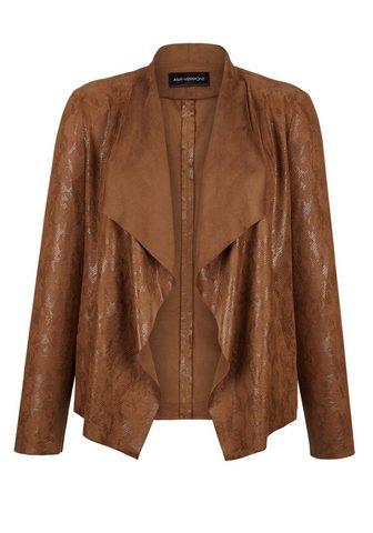 Куртка из искусственной кожи в Schlang...
