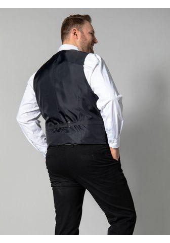 MEN PLUS BY HAPPY SIZE Anzugsweste Spezialschnitt