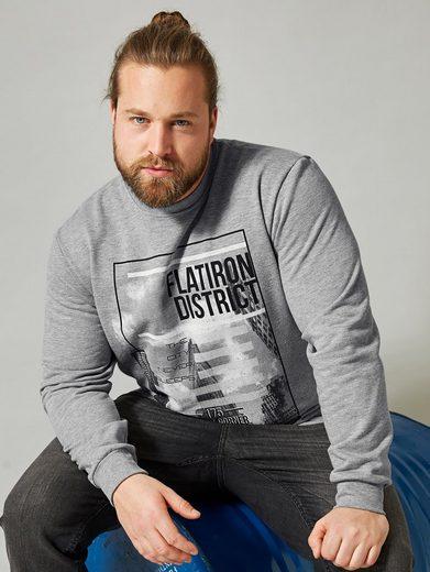 Men Plus by Happy Size Sweatshirt