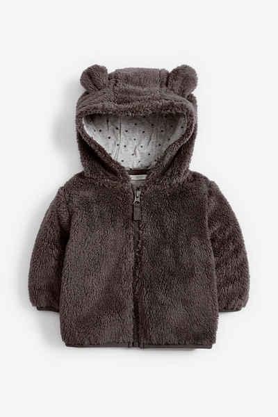 Next Fleecejacke »Kuschelige Jacke aus Fleece mit Bärenmotiv« (1-St)