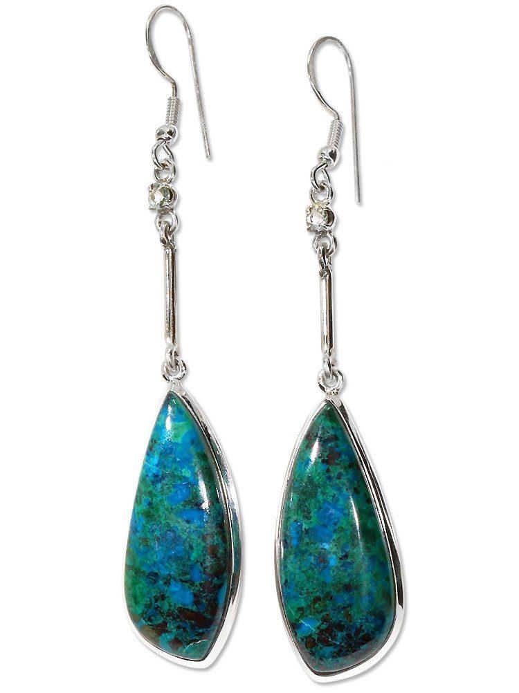 »chrysokoll Silber« Online Ohrhänger Paar Kaufen Adelia´s Ohrschmuck925 ARqj3L54