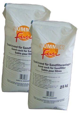 SUMMER FUN Kvarcinis smėlis 2 x 25 kg