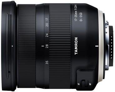 Objektive - Tamron »AF 17 35mm F 2.8 4 Di OSD« Objektiv  - Onlineshop OTTO