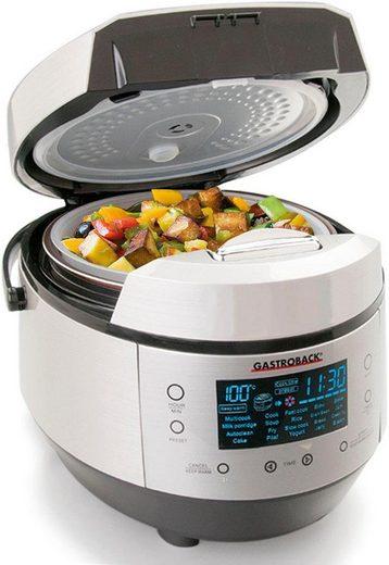 Gastroback Multikocher Design Multicook Plus 42526, 950 W, 5 l Schüssel, 950 Watt
