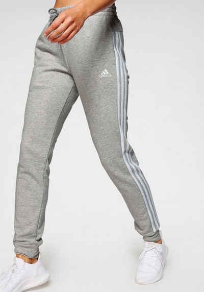 Damen Reebok Yoga Jogger Jogginghose schwarz Sport Slim Fit Hose