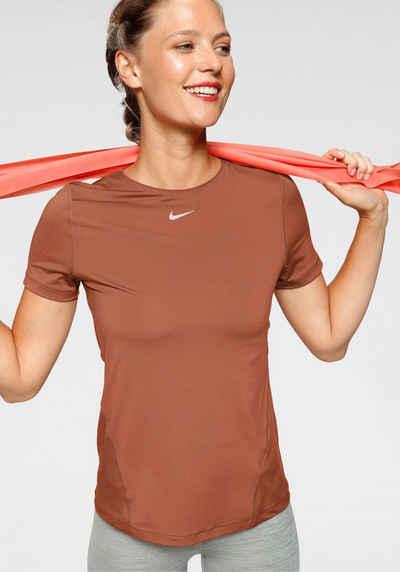 »WOMEN Nike Funktionsshirt Technology FIT NIKE TOP ALL PERFORMANCE OVER MESH« SHORTSLEEVE DRI CoerBQxWd