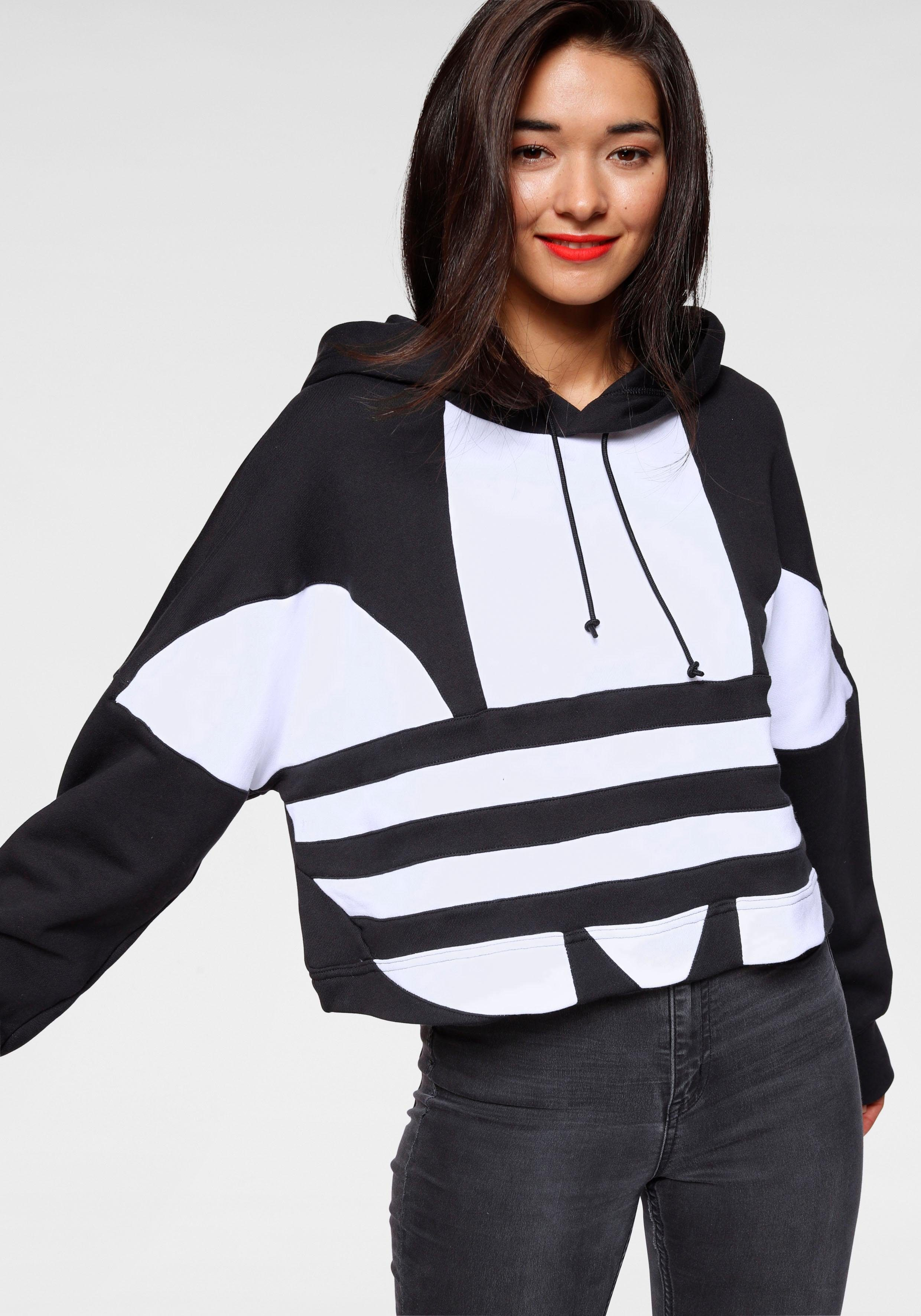 adidas Originals Kapuzensweatshirt »LARGE LOGO CROP HOOD« online kaufen | OTTO