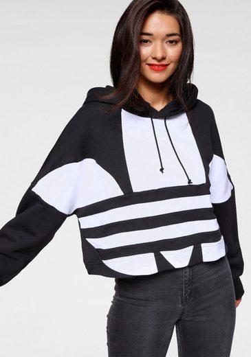 adidas Originals Kapuzensweatshirt »LARGE LOGO CROP-HOOD«