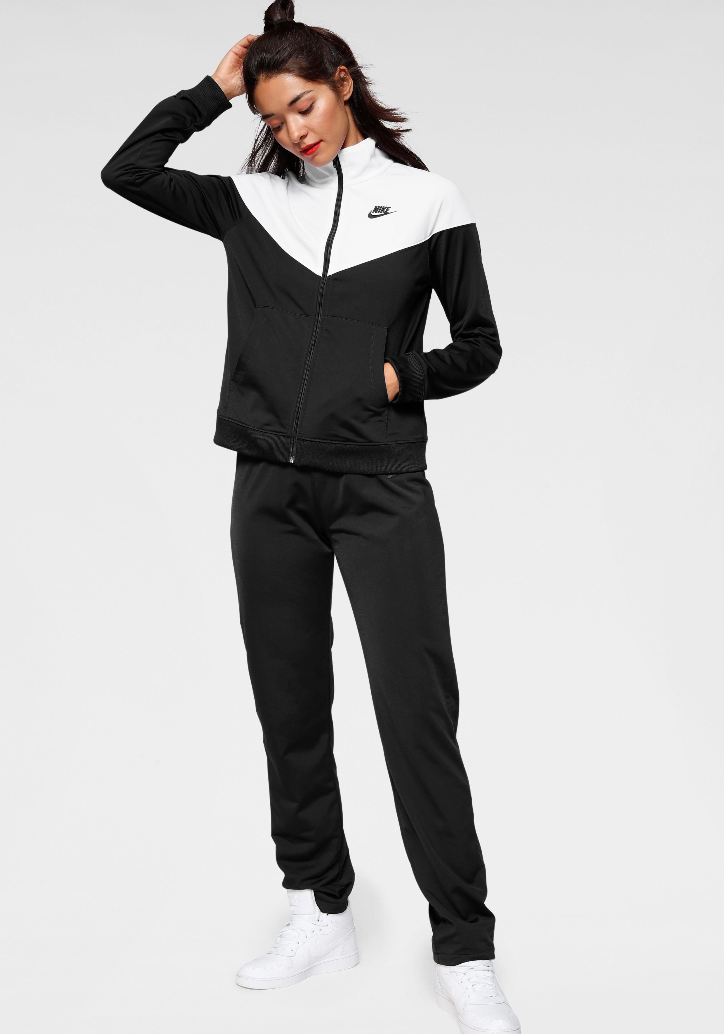 Damen Nike Sportswear Trainingsanzug W NSW TRK SUIT PK rosa, schwarz   00193146869621